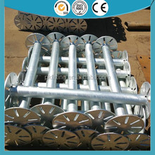 Hot Dipped Galvanized Solar Power System Ground Screw
