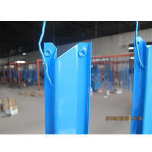Shelving end brackets with interchangeable pieces for supporting hang rods of different sizes