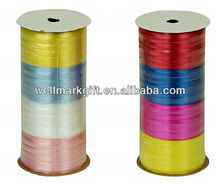 4 Rijstroken Multi Kleur Crimp Solid Poly Curling Present Wrapping Lint Spool