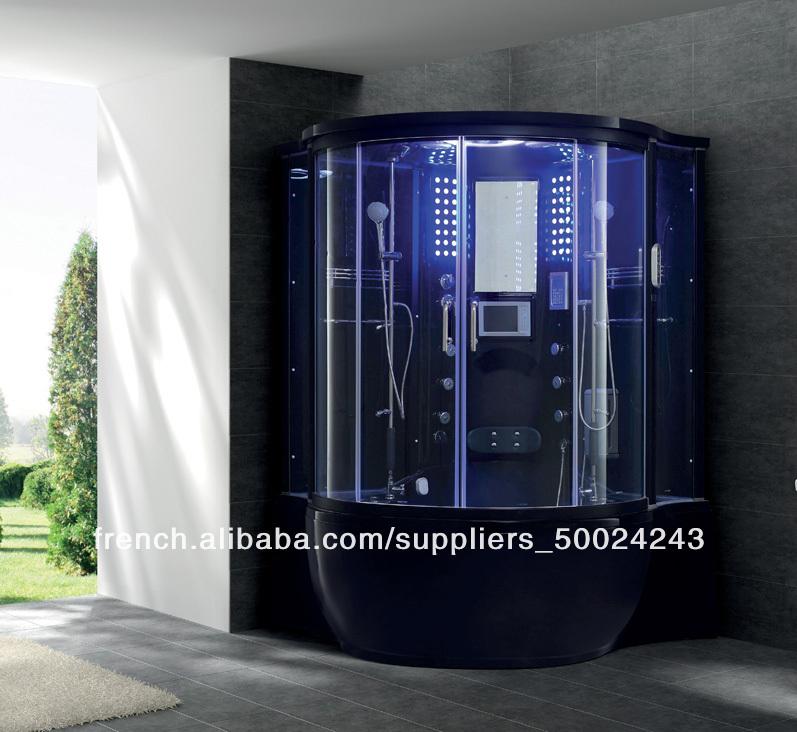 prix jacuzzi douche chambre intérieure cascades de verre multi ...