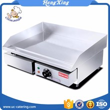 Premier Range 3kw Half-Ribbed 60cm Commercial Electric Griddle and Hotplate