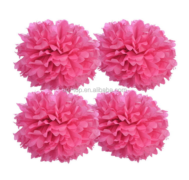 Large supply most popular pom poms paper ball
