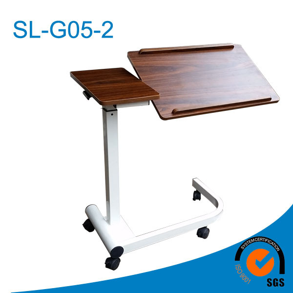 expandable dining table design,over bed tray table,new design