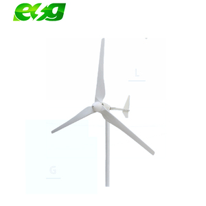 24V/12V 400W Low Wind Wind Generator Start Up Horizontal Residential Wind Turbine Generator