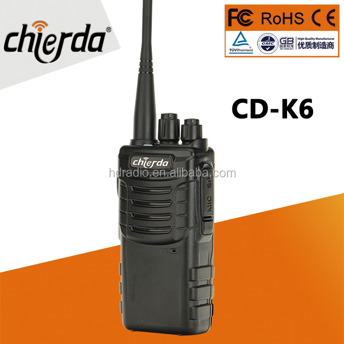 3W Output power vhf uhf mini walkie talkie with cheap price (CD-K6)