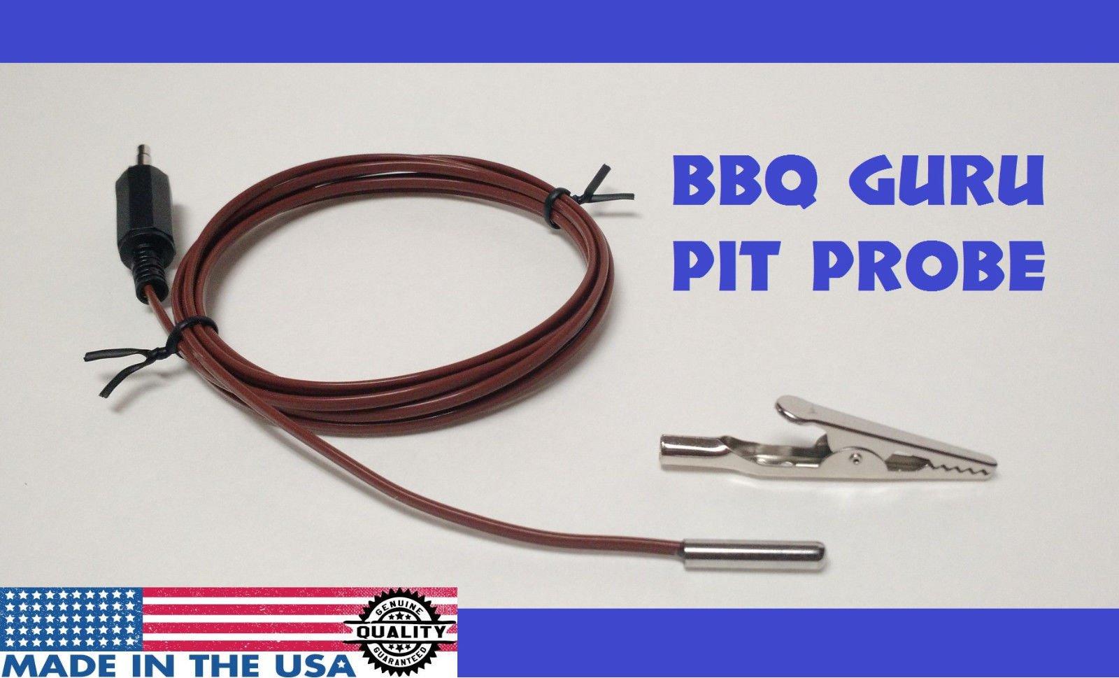 BBQ Guru Compatible 6/' Pit Probe Thermometer Grill Smoker PartyQ DigiQ CyberQ HT