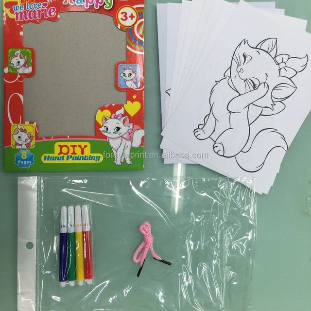 Buy Cheap China coloring book with water pen Products, Find China ...