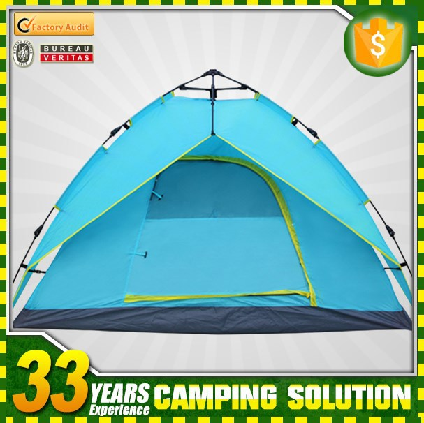 3-4 person automatic umbrella camping tents wholesale