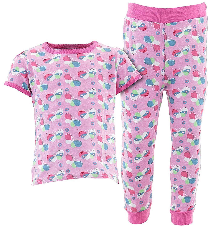 Sweet & Soft Baby Girls' Short Sleeve Cotton Pajamas