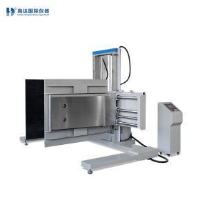 Package clamp compression drop impact tester