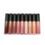 Geen label logo mini biologische vegan shimmer hydraterende lipgloss applicator