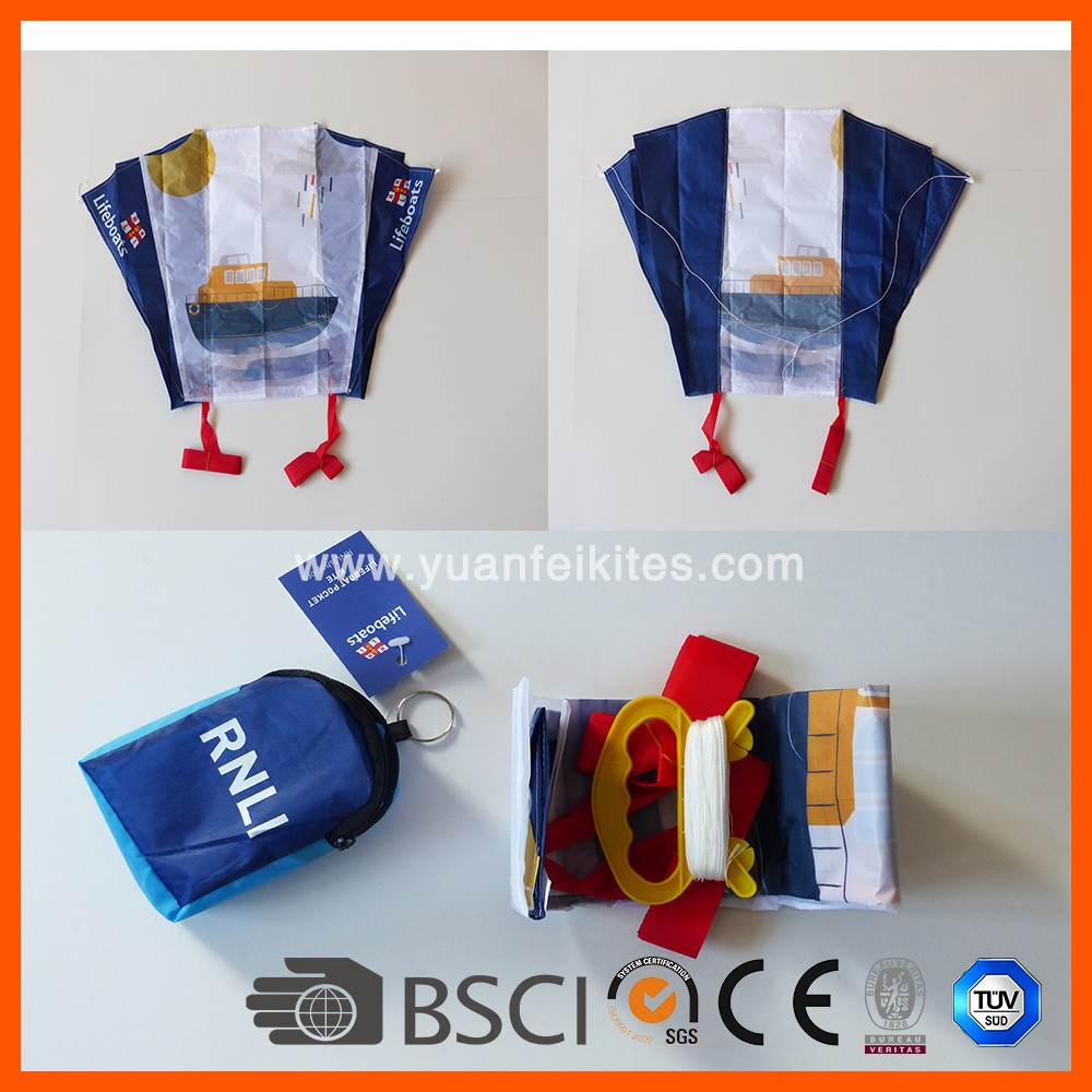 Advertising Foldable Pocket Kite for kids