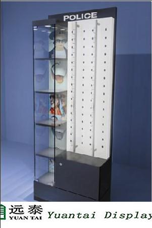 Sunglass Display Cabinet Showcase And Wall Mounted Eyeglass Display Kiosk