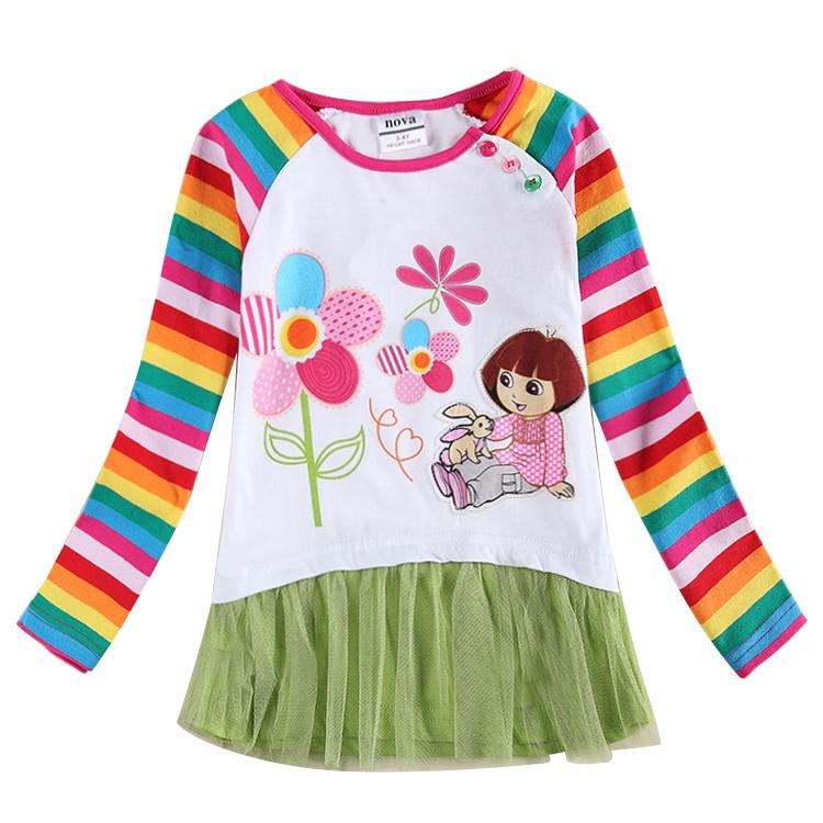 e24c02eeb Buy Girls Clothes Princess Elsa Dress Baby Girl Dress Kids Dresses ...
