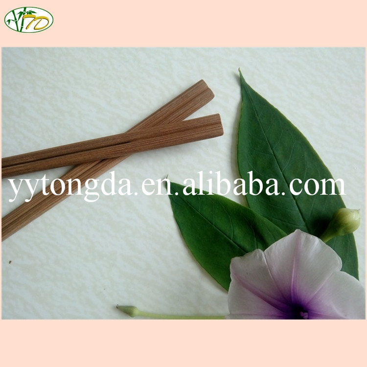 Cost price fast delivery top level carbonized bamboo chopsticks