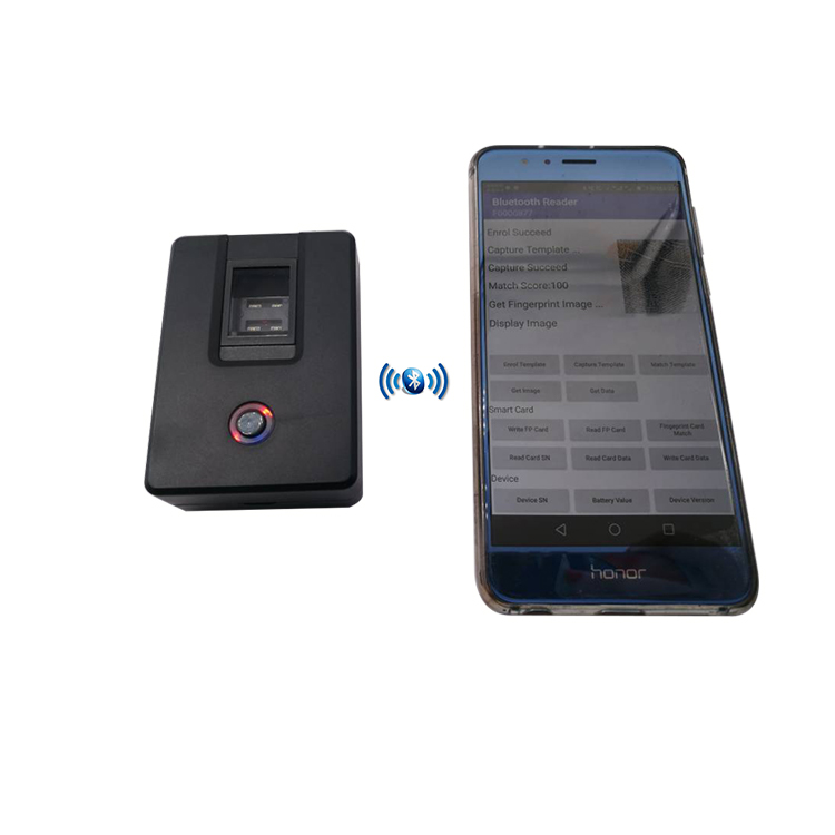 HF4000plus Optical sensor USB Portable Biometric Android Fingerprint Reader