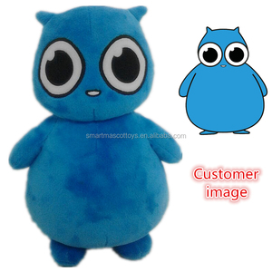 custom made stuffed plush toy according to customer image/ design high quality meet EN71 standard plush stuffed toys