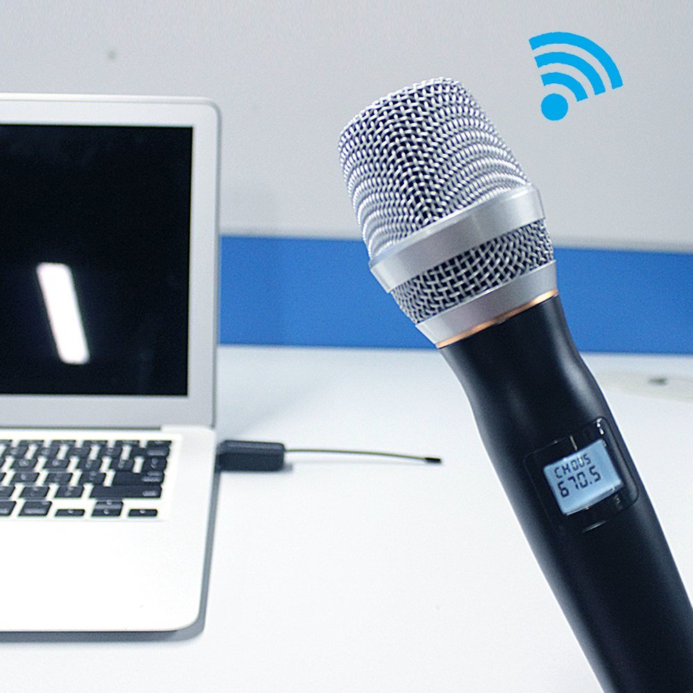 Affordable Price handheld dynamic wireless microphone usb