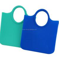 Silicone Shoulder & Hand Messenger Lady Beach Bag Large Size Sand Beach Hobo Bag