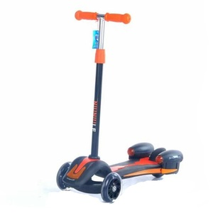 Wholesale Cheap Kids Kick Foldable Scooter/Factory various color scooter with light