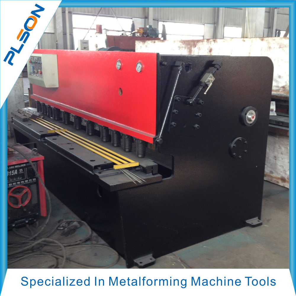 Hydraulic sheet metal shearing machine QC11Y-16x3200