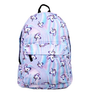 Wholesale fashion cartoon kid unicorn backpack girls for school