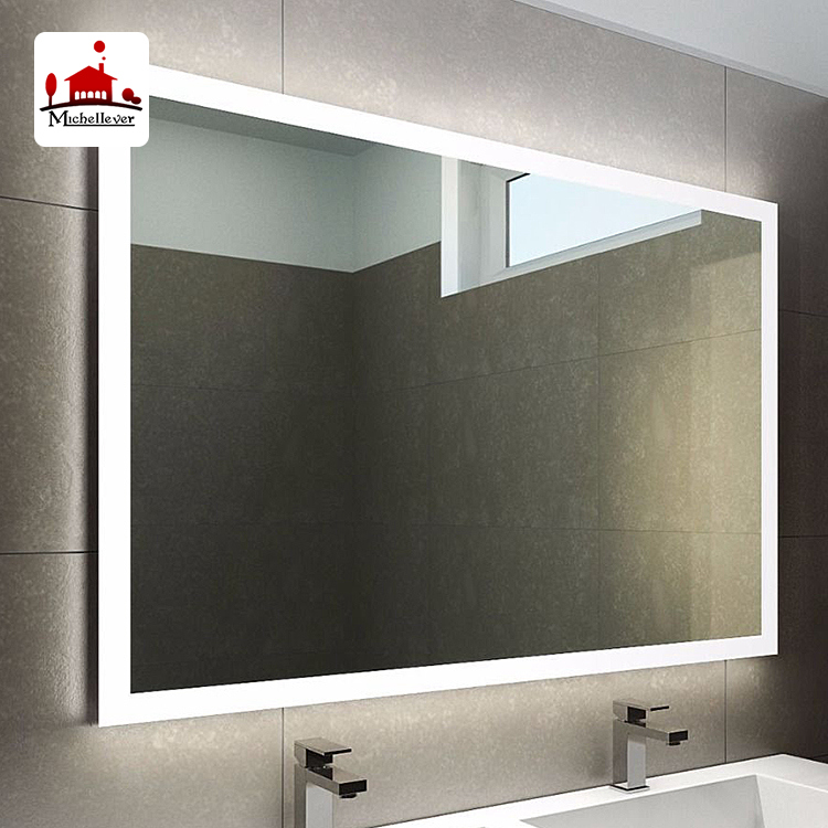 Hotel Decorative Frameless Fancy Dressing Mirrors Design Cheap Rectangle  Bathroom Wall Mirror With Led Light - Buy Frameless Fancy Dressing Mirrors  ...