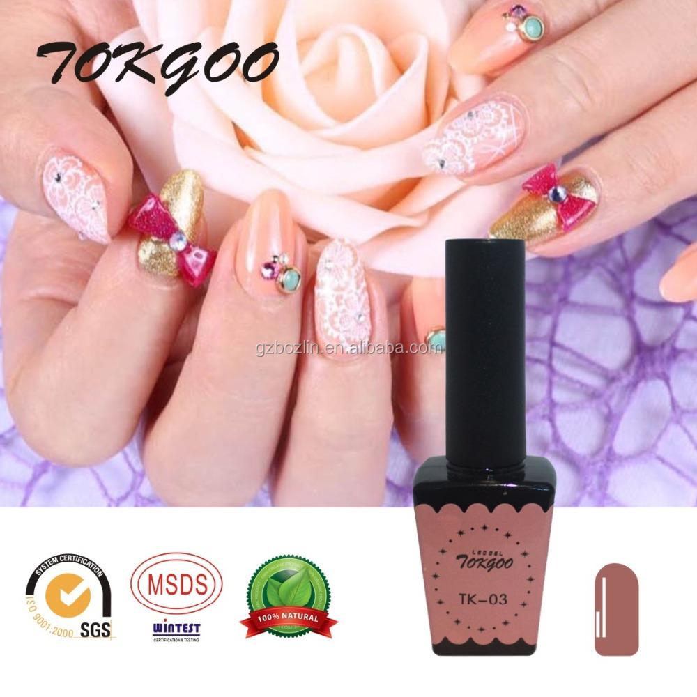 Brand Tokgoo !factory Free Sample Private Label Nail Polish Colors ...