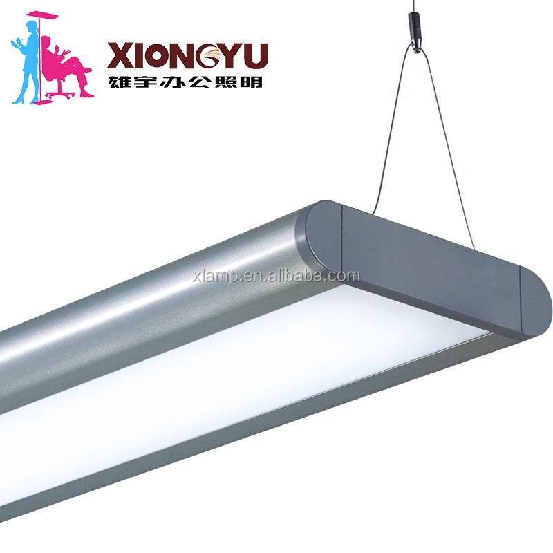 Indoor T5 T8 Led Pendant Lighting Fixture Cover Lowes Fluorescent Lights Fixtures Suspended Office Lightingt5 Light