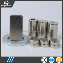 China supplier supreme quality big size block ndfeb magnets