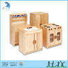 Nursery and home educational wooden furnitures montessori modular kitchen cabinet