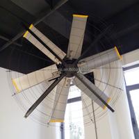 Electric DC Motor Wall Mounted Large Industrial Fan