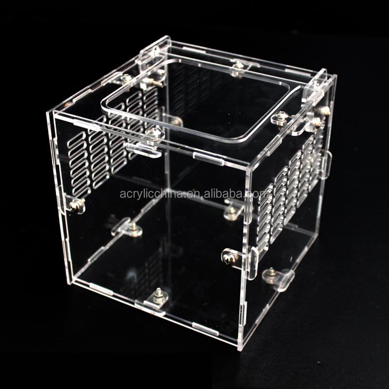 China factory direct supply of acrylic pet cage,acrylic hamster cage,acrylic dog cage