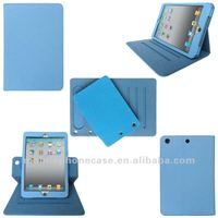 Rotating Leather smart case for iPad mini