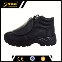 anti-impact s3 certificated safety boots and iron foundry safety shoes