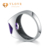 VLOVE Fashion Jewelry Manufacturer S925 Mens Amethyst Silver Ring Wholesale