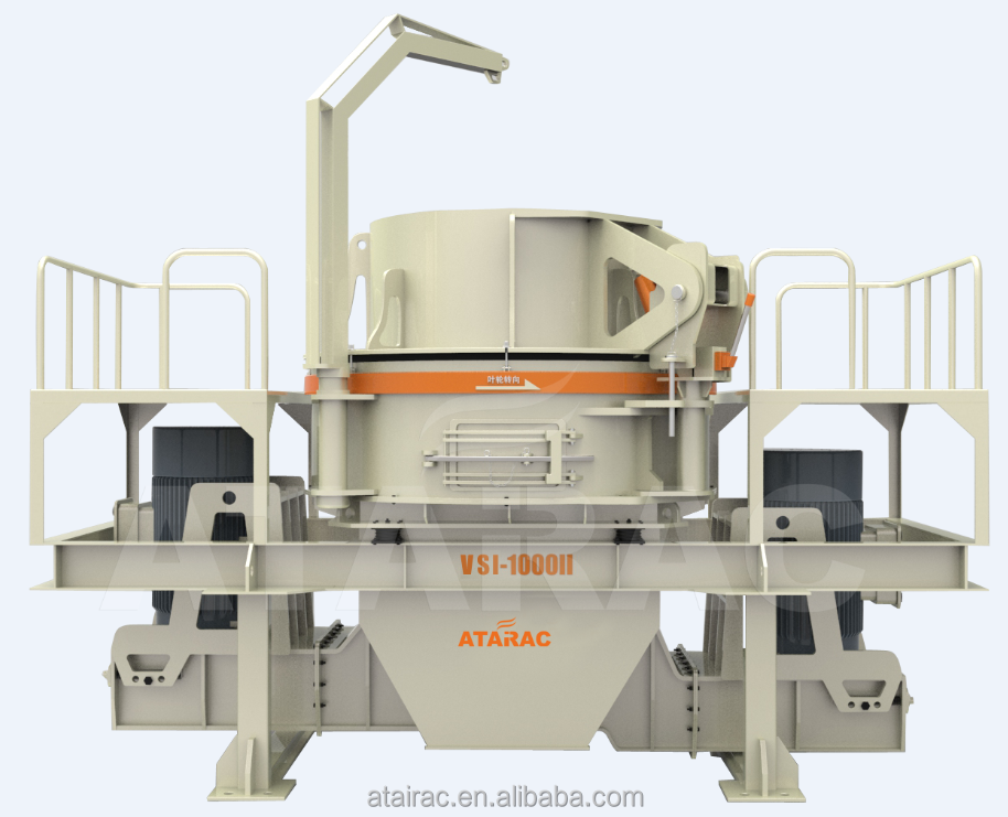 Rock artifical sand making machine price for sand production