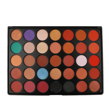 Low MOQ Private Label 35 Color Eyeshadow Palette