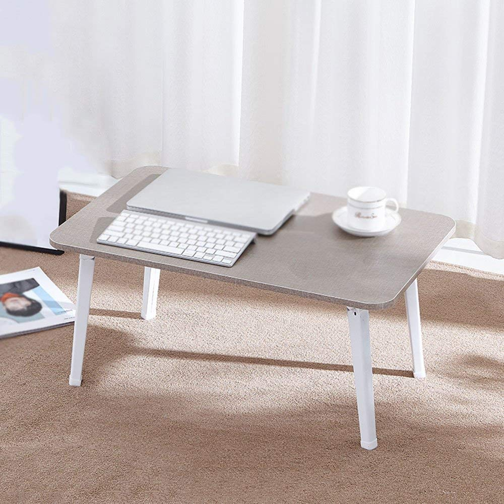 Xiaolin Table Solid Wood Small Square Table Small-Sized Dining Table Foldable Dining Table Foldable Computer Desk Small Workbench Removable Laptop Desk Portable Learning Table Dormitory Bedside Comp