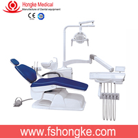Foshan Manufacture Dentist Chair Controlled Integral Dental Unit with Rotary unit box