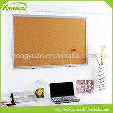 Aluminum frame message various color and size cork board pin