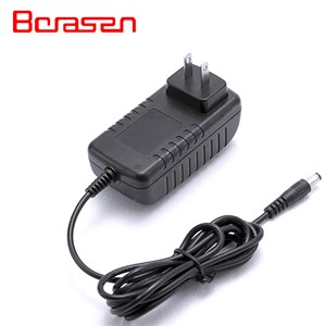 24W Power Adapter Wall Mounted 12V 2A AC DC Adapter US plug for Security System