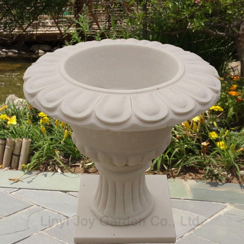 Hete verkoop outdoor decoratieve pot grote stenen tuin pot bloempotten en plantenbakken product - Decoratie stenen tuin ...