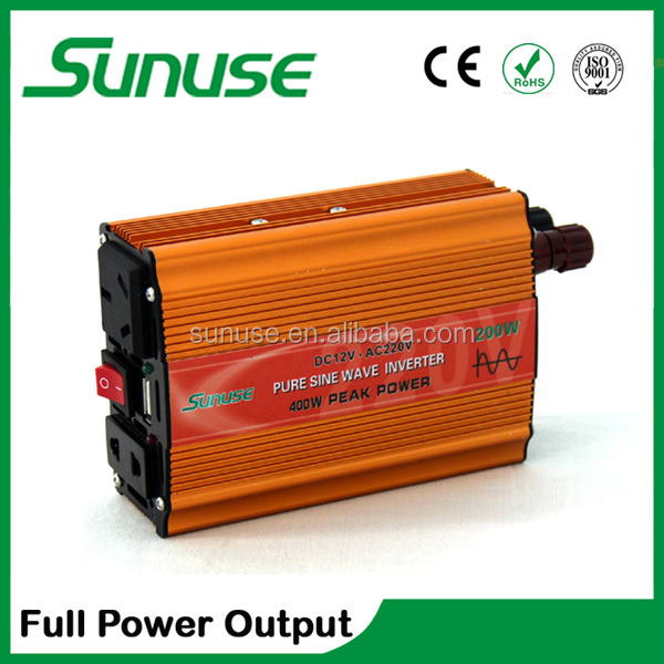 200W small size pure sine wave inverter charger used for home/car/solar system