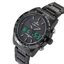 NAVIFORCE мужские часы, лучший бренд, роскошные повседневные кварцевые часы, мужские водонепроницаемые военные часы, мужские часы из нержавеюще...(Китай)