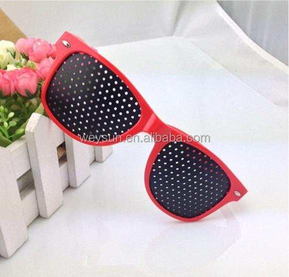 Pin Hole Eyeglasses Pinhole Glasses Eye Exercise Eyesight