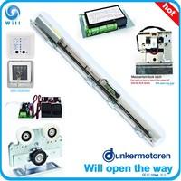 Automatic sliding door system, Dunkermotoren motor, OPTEX radar, BEA sensor, CE UL certificate