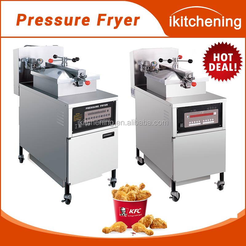 Venta Caliente Frito Pollo Presión Freidora Máquina Con Bomba De Aceite Y  Filtro PFE 800