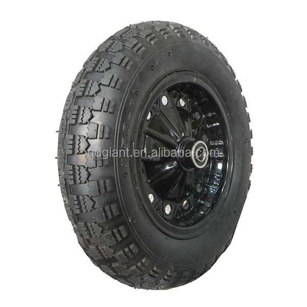 14 inch wheelbarrow wheel with axle