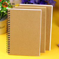 Z012 2016 new products wholesale waterproof paper notebook,kraft paper blank notebook,mini note book